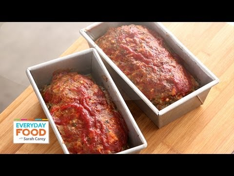 Meatloaf with Chili Sauce – Everyday Food with Sarah Carey