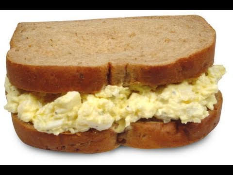 Cooking with Junkyard: Egg Salad Sandwich