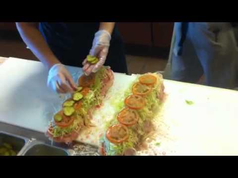 Super Italian Sub Sandwich