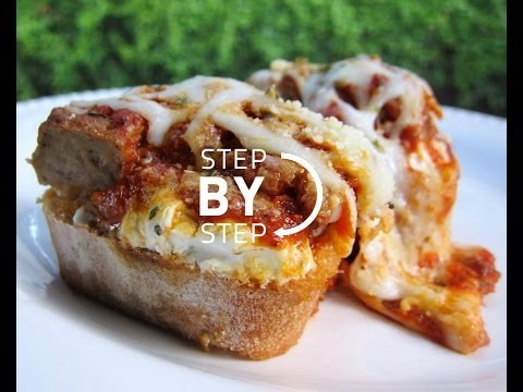 Meatball Sub Recipe – Recipe for Easy Meatball Subs – How to Make An Easy Meatball Sub!