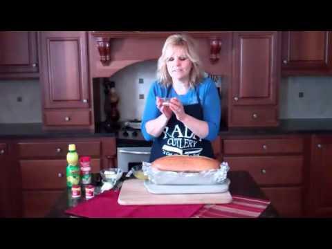 Baked Sub Sandwich Recipe | RadaCutlery.com