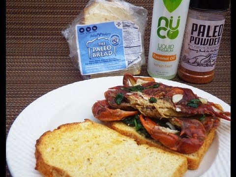 Paleo Softshell Crab Sandwich Recipe