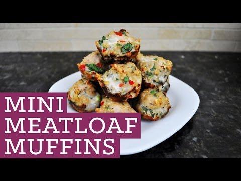Mini Meatloaf Muffins  – Mind Over Munch Episode 6