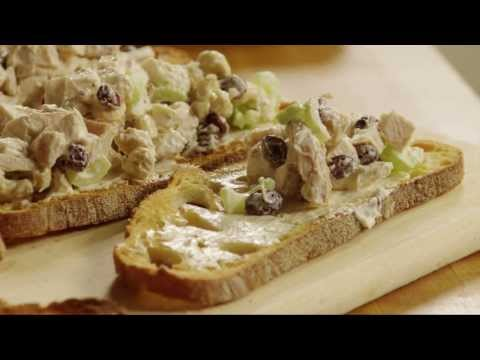 Chicken Recipes – How to Make Grilled Chicken Salad Sandwiches