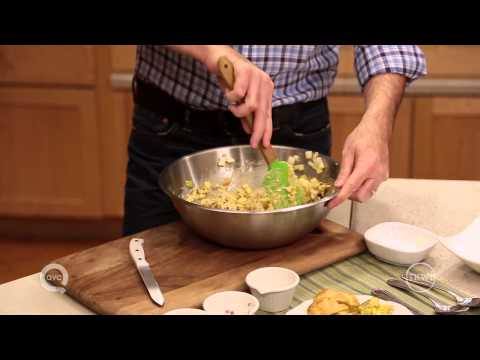Clinton Kelly makes Curried Chicken Salad Tea Sandwiches
