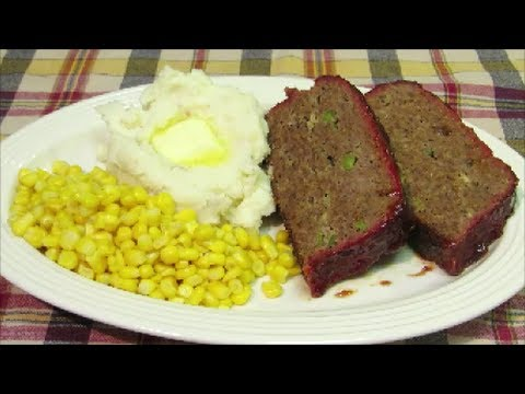 Smoked Meatloaf – Homemade Meatloaf by The Wolfe Pit