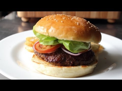 Hamburger Buns – How to Make Homemade Burger Buns