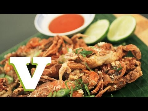 How To Make Deep Fried Soft Shell Crab: Asian Bites – S01E2/8