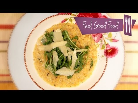 RED LENTIL RISOTTO: FEEL GOOD FOOD