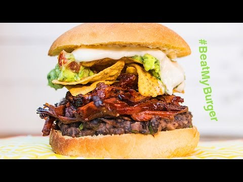 The Mexican Burger | #BeatMyBurger ep.1