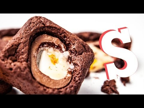 Creme Egg Chocolate Brownies
