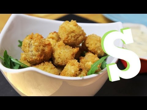 BREADED MUSHROOMS WITH HOMEMADE MAYO RECIPE – SORTED