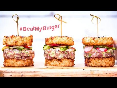The Sushi Burger | #BeatMyBurger ep.2