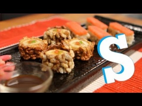 How to Make Fruit Sushi