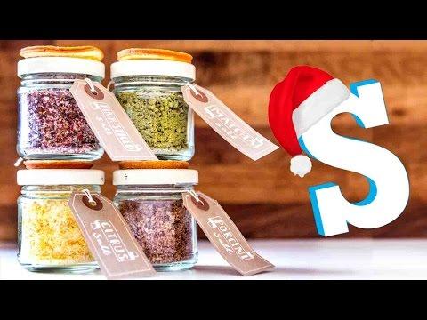 Flavoured Salts: DIY Christmas Food Gifts
