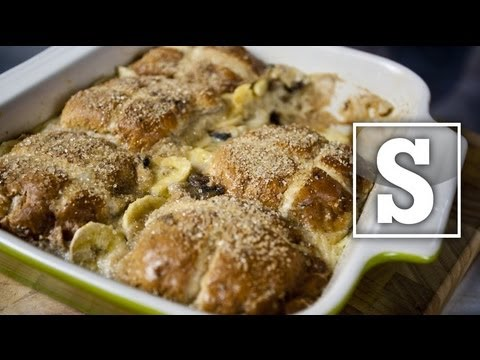 HOT CROSS BUN & BUTTER PUDDING RECIPE – SORTED