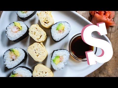 Tempura Prawn Sushi Recipe – SORTED