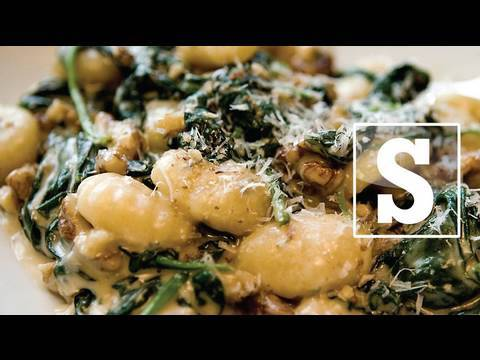 SPINACH AND BACON GNOCCHI RECIPE – SORTED