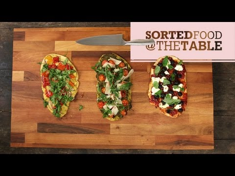 Flatbread Trio | SortedFood @ The Table