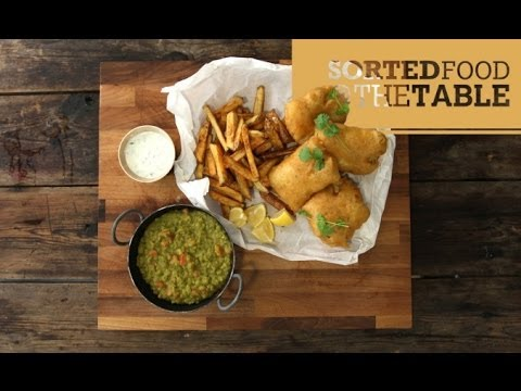 Curried Fish and Chips   SortedFood @ The Table