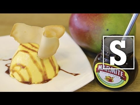 MARMITE & MANGO PANNA COTTA RECIPE – SORTED