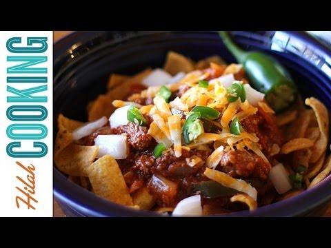 Texas Chili Recipe | How to make Chili | Hilah Cooking