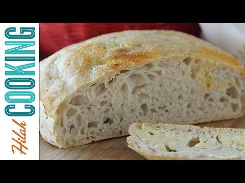 How To Make Bread – No-knead Bread