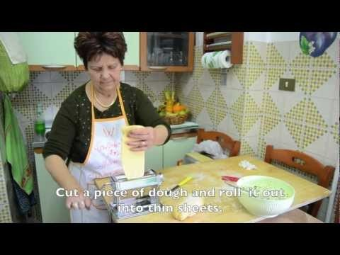 Homemade Ravioli Italian style – cooking with mamma Anna Maria