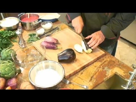 Authentic Eggplant Parmesan Recipe : Italian Cooking