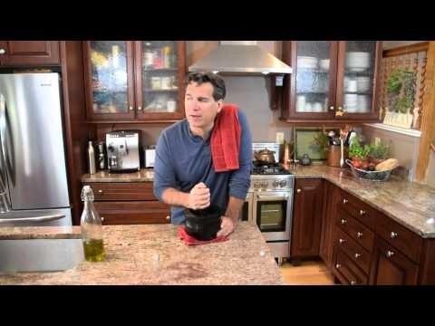 Authentic Italian Pesto Homemade Cooking Italian with Joe