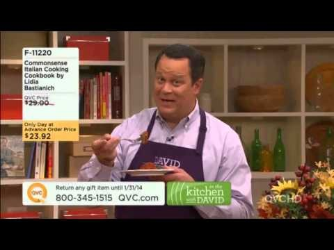 Commonsense Italian Cooking Cookbook by Lidia Bastianich on QVC #ITKWD